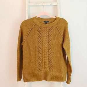 J.crew♡ Cable knit wool sweater